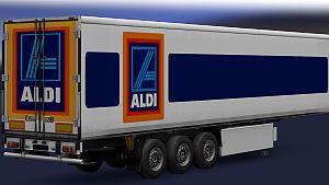Aldi Logistics trailer mod