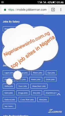 Tip job sites in Nigeria