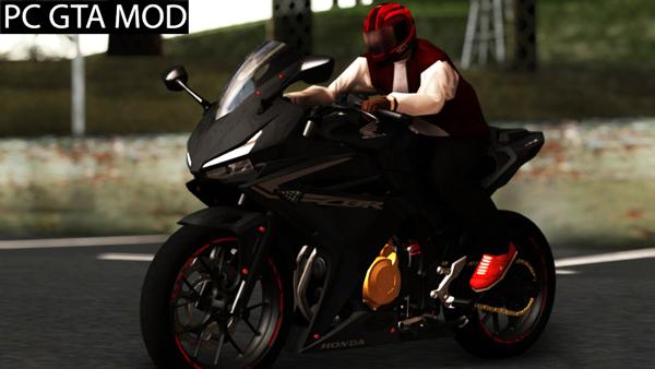 Free Download  2016 Honda CBR 500R Modified  Mod for GTA San Andreas.