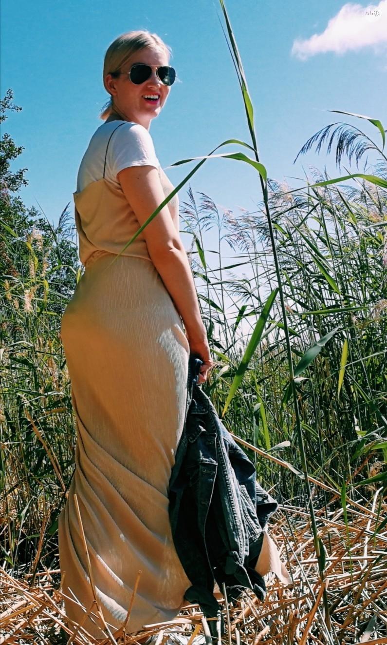 maxi skirt, maxi kjol, diy