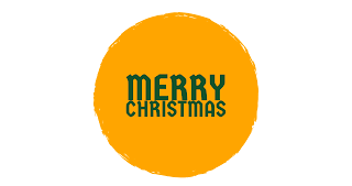 Different shades colour Merry Christmas png free download