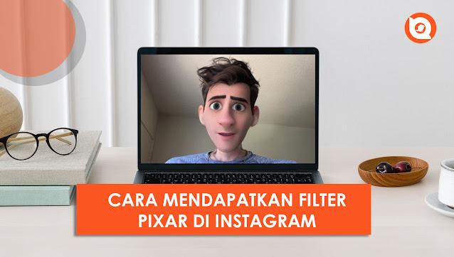 nama filter kartun di instagram