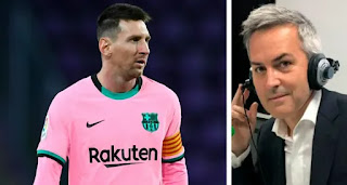 Victor Font on Messi Barca exit saga: 'The world will not end if Messi leaves Barca'