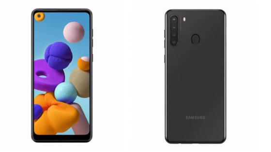 هاتف Samsung Galaxy A21 - هاتف Verizon الرخيص
