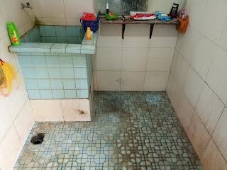 kamar mandi kotor berkerak