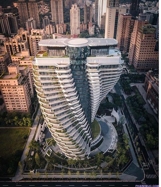 Tao Zhu Yin Yuan: tòa tháp mang hình xoắn ốc DNA độc đáo- ảnh 2