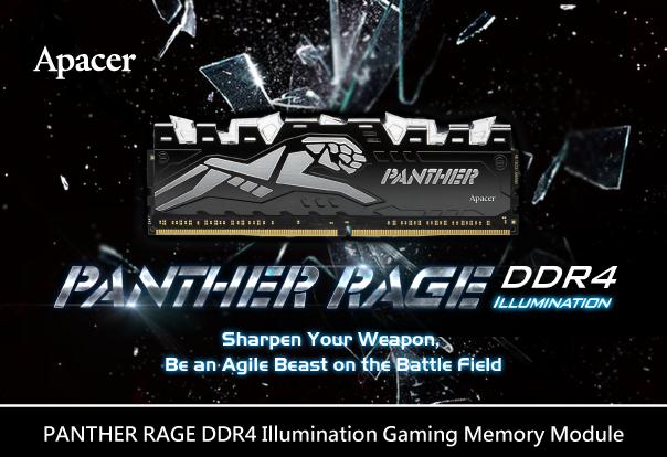 Apacer PANTHER RAGE DDR4
