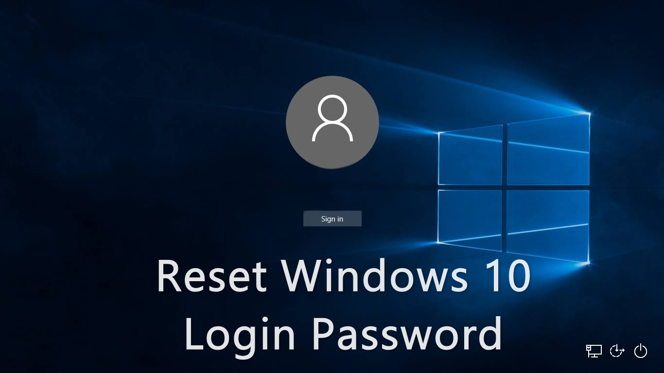 How To Reset Your Forgotten Windows 10 Password - Guide Tricks