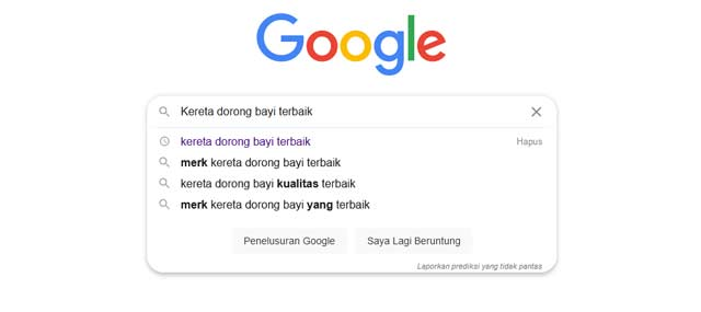 Panduan Riset Kata Kunci dengan google