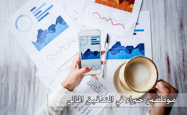 موظفين خبراء في التدقيق المالي