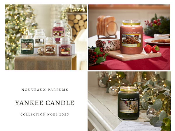YANKEE CANDLE | NOUVEAUX PARFUMS NOËL 2020 (CHRISTMAS COLLECTION)