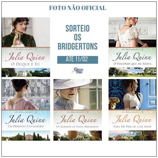 Sorteio Livros Os Bridgertons