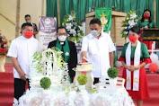 Gubernur Sulut Hadiri Ibadah Syukur HUT Ke-3 GMIM Eben Haezer Buntong