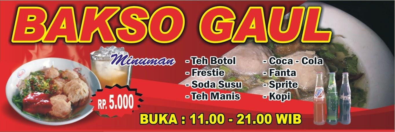 Desain Banner Bakso Dan Mie Ayam Cdr - gambar spanduk