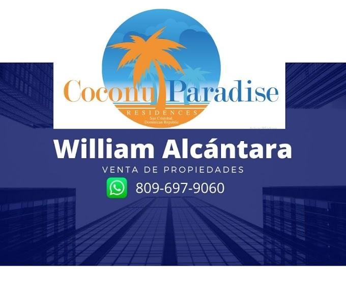 Coconut Paridise: un complejo residencial seguro que incluye: villas, condominios y club de playa.