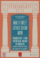 Concierto de Anni B Sweet, Luthea Salom y MOW en el Real Coliseo Carlos III