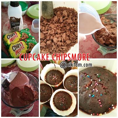 Resepi Cupcake Chipsmore Mudah