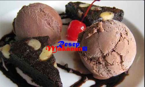 Resep Dan Cara Membuat Es Krim Rasa Coklat Sederhana