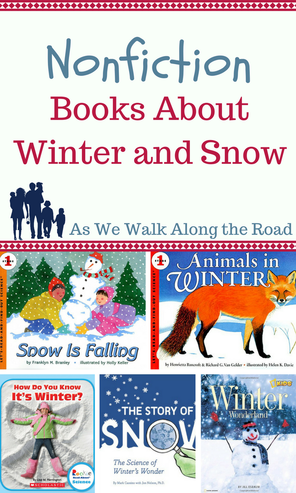Kids nonfiction books about winter and snow