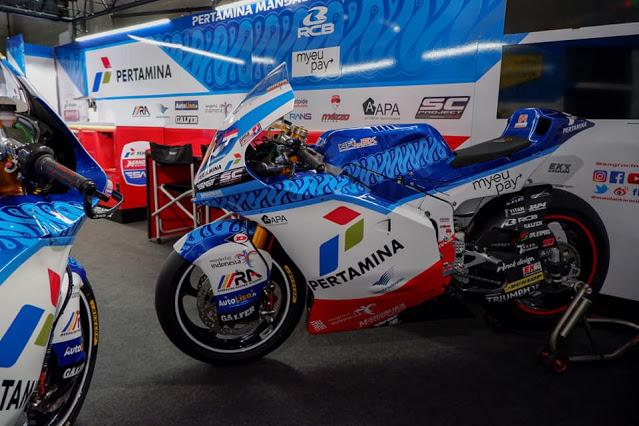Hasil Race Moto2 Portugal 2021: Tim Pertamina Mandalika SAG Ke Berapa ??