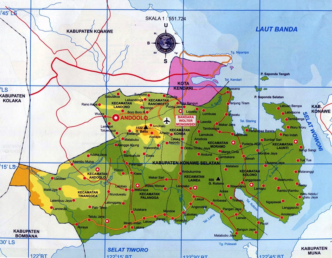 Profil Kabupaten Konawe Selatan Sulawesi Tenggara | DESA ...