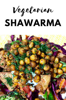 Monday Munchies: Vegetarian Shawarma Salad