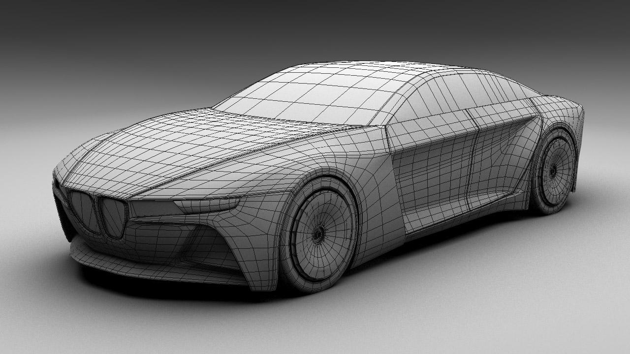 Bmw Polygon Modeling David Cava