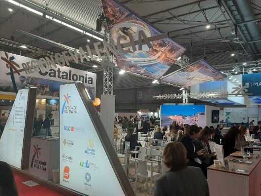 Turisme Comunitat Valenciana promociona la oferta turística MICE en IBTM World Barcelona
