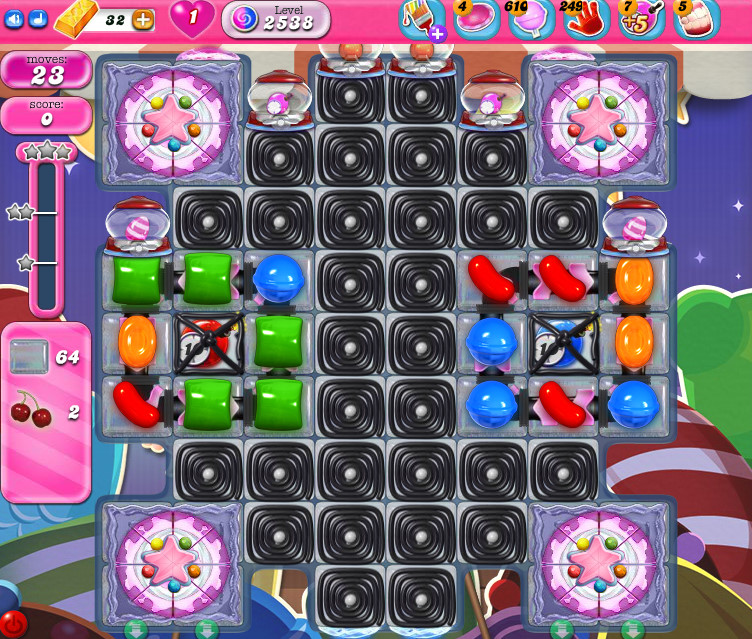 Candy Crush Saga level 2538