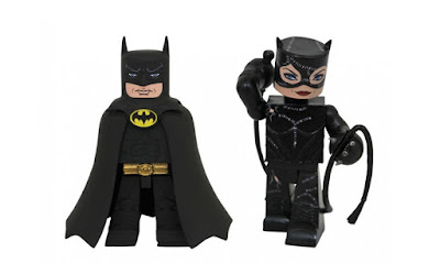 DC Comics Batman Returns Movie Vinimates Vinyl Figure 2 Pack by Diamond Select Toys – Batman & Catwoman