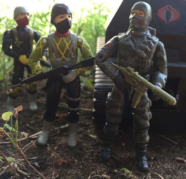 1984 Firefly, 1983 FANG, Stinger, Hiss Driver, Wal Mart, Unproduced, Destro, Cobra Trooper, Stalker, Snake Eyes, Palitoy, Action Force, 1985 Crimson Guard, Stinger Driver, Python Patrol, Hiss Tank
