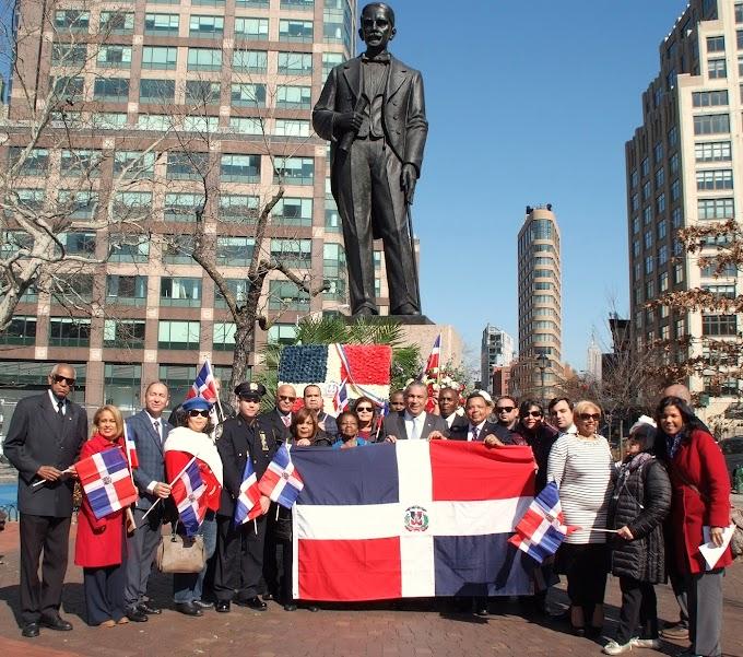 Castillo afirma padres de la patria siguen presentes en la diáspora dominicana
