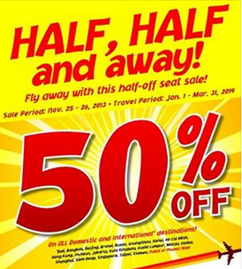 Cebu Pacific Air promo fares