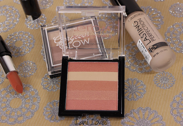 Collection Cosmetics Gorgeous Glow Blush Block & Bronzing Block Swatches & Review