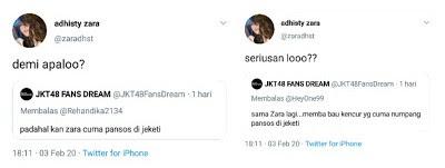 """Adhisty Zara responds to """"Social Climbing"""" tweet by JKT48 fans"""