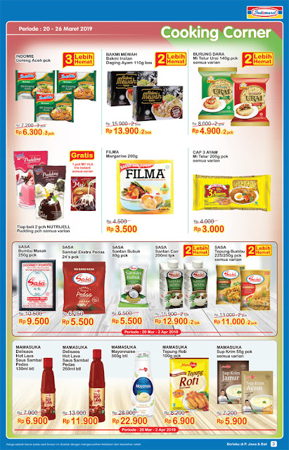 Katalog Promo Indomaret Super Hemat Terbaru 20 - 26 Maret 2019