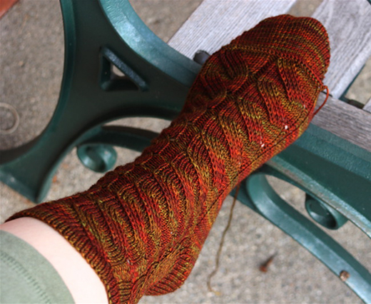 Nutkin Socks Free Knitting Pattern