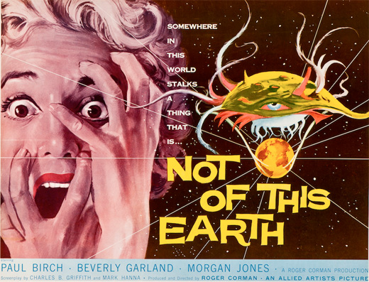 Poster - Not of This Earth, 1957