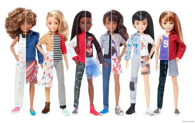 Mattel unveils 'gender inclusive' toy line that is 'free of labels'