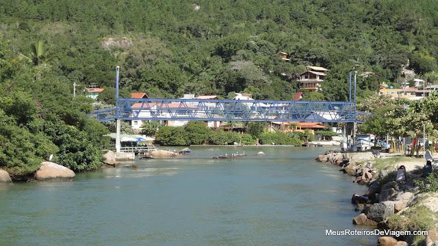 O canal da Barra da Lagoa - Floripa