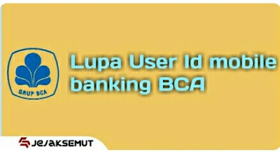 Lupa User Id mobile banking BCA