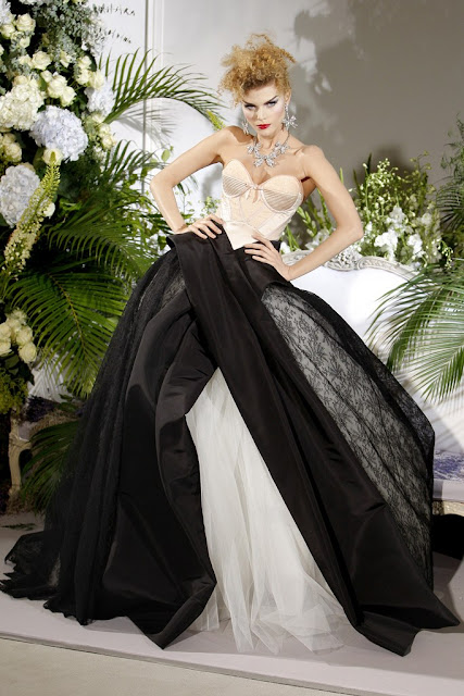 Christian Dior Fall 2009 Couture vintage bombshell inspiration