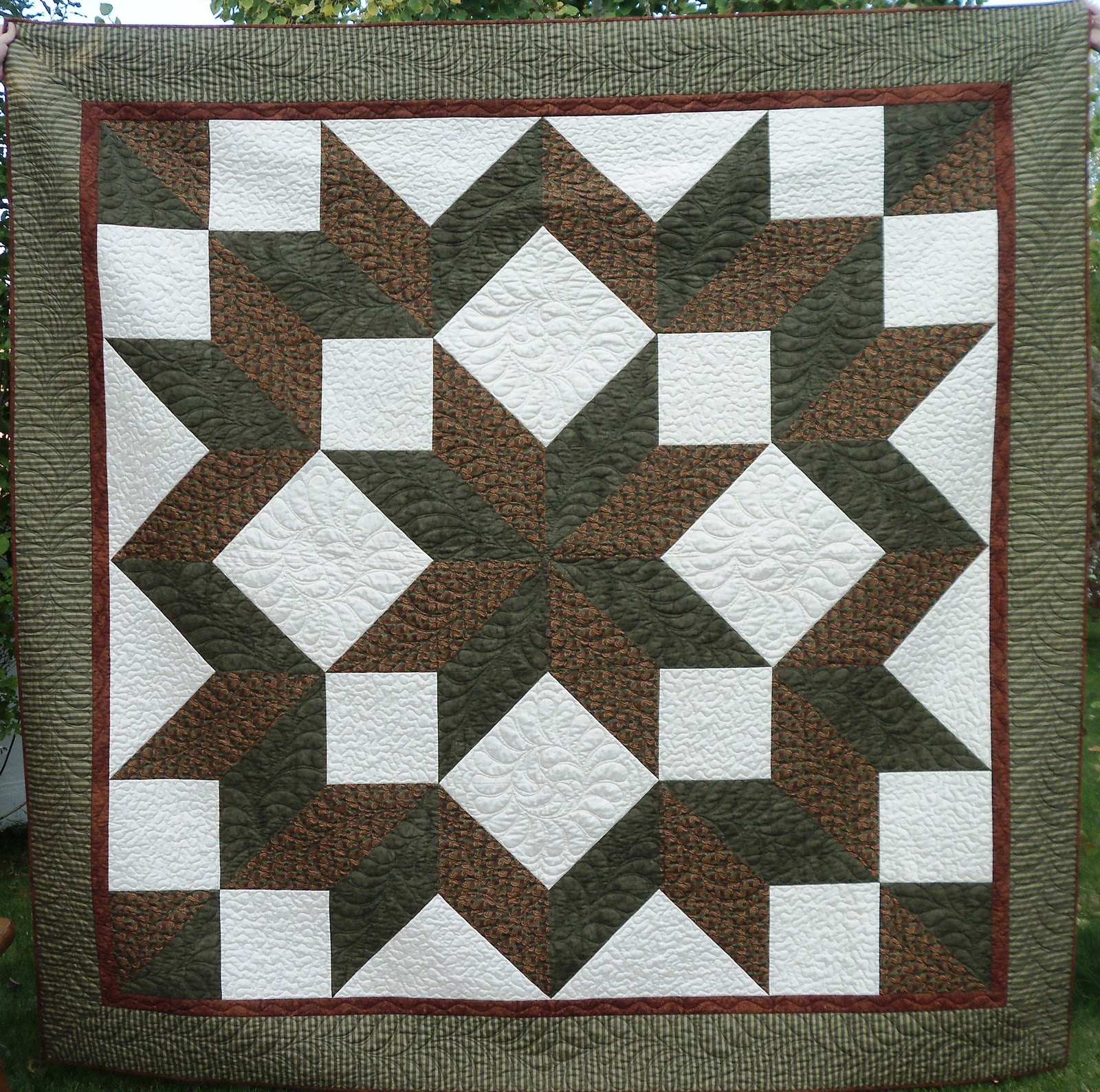 Quiltscapes A Carpenters Star