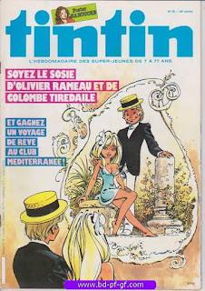 Tintin-numéro 38, année 38, 1983, Dany