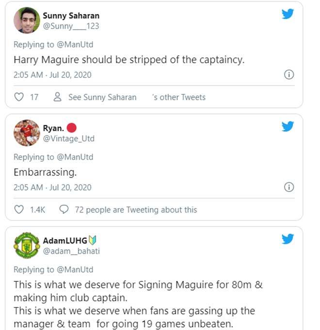Maguire siêu tồi tệ: Fan MU giận dữ đòi tước băng đội trưởng 2