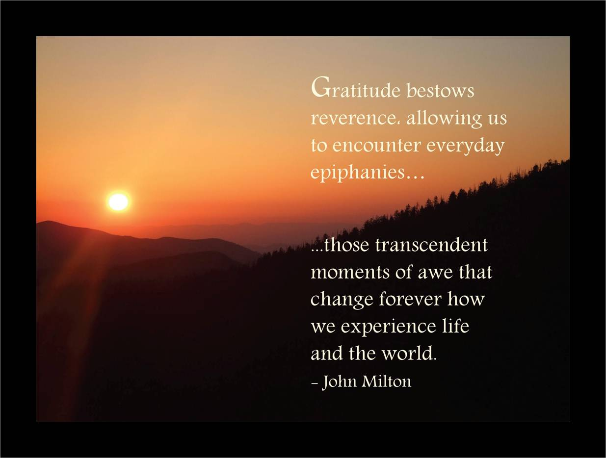 Celebrate Gratituesday: Gratitude Thoughts