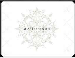 The symbol and art design for the Maisonry wines bottles based in Yountville, California