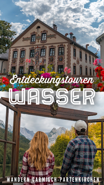 Entdeckungstouren Wasser Aulealm - Riessersee Runde + Die kleine Wank-Runde  Wandern Garmisch-Partenkirchen 21