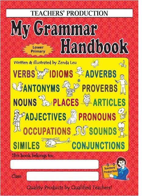 كتاب لتعليم قواعد اللغة الإنجليزية للمرحلة الإبتدائية والمتوسطة بصيغة pdf