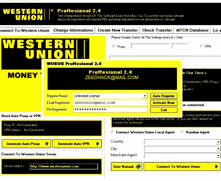 Western union how does it work : Percentage chart